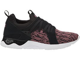 Right side view of GEL-LYTE V SANZE, ROSE TAUPE/BLACK