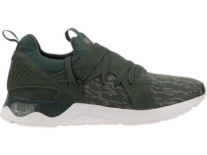 Right side view of GEL-LYTE V SANZE, Dark Forest/Dark Forest