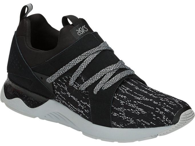 Front Right view of GEL-LYTE V SANZE, Black/Black