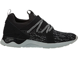 Right side view of GEL-LYTE V SANZE, BLACK/BLACK