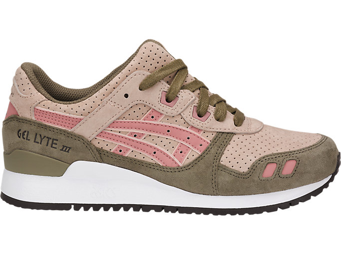 Right side view of GEL-LYTE III, AMBERLIGHT/ROSE DAWN
