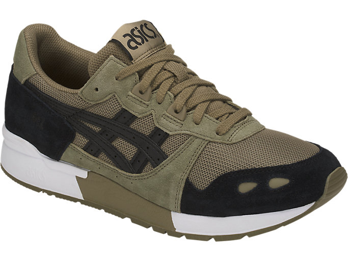 Front Right view of GEL-LYTE, ALOE/BLACK