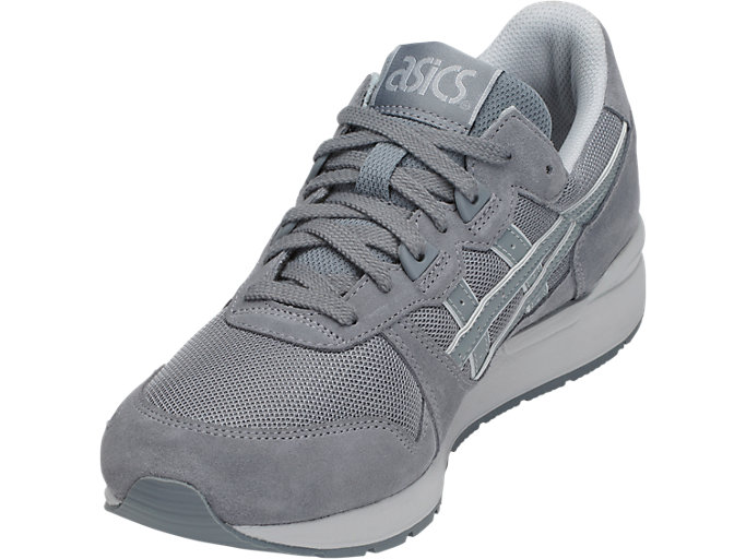 Front Left view of GEL-LYTE, STONE GREY/STONE GREY