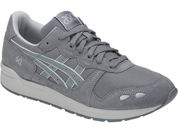 Front Right view of GEL-LYTE, STONE GREY/STONE GREY