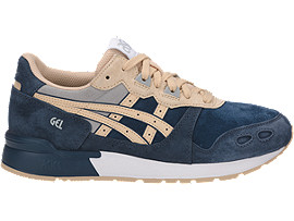 Right side view of GEL-LYTE, DARK BLUE/MARZIPAN