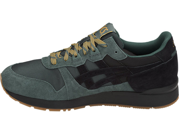 Left side view of GEL-LYTE, DARK FOREST/BLACK