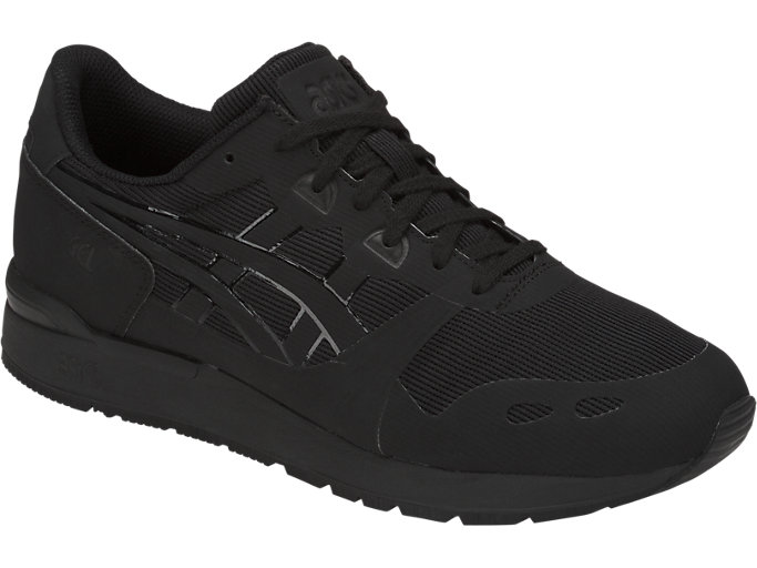 Front Right view of GEL-LYTE NS, BLACK/BLACK