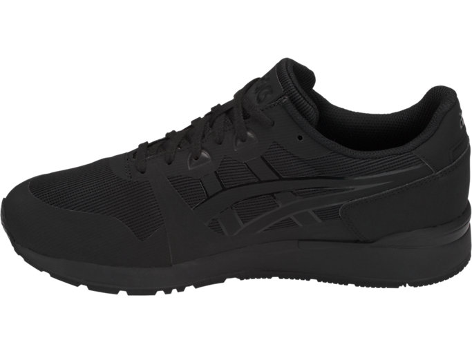 Left side view of GEL-LYTE NS, BLACK/BLACK