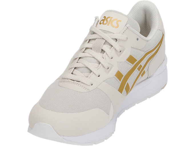 Front Left view of GEL-LYTE V NS, BIRCH/RICH GOLD
