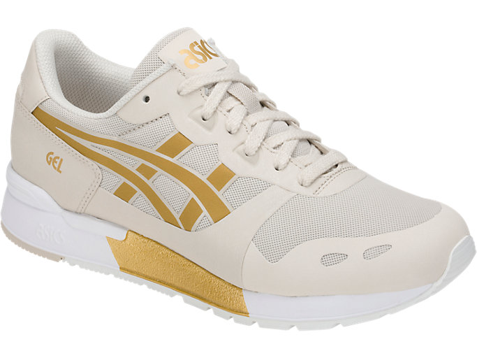 Front Right view of GEL-LYTE V NS, BIRCH/RICH GOLD