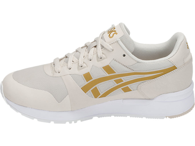 Left side view of GEL-LYTE V NS, BIRCH/RICH GOLD