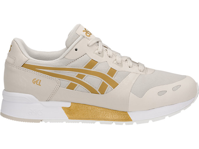 Right side view of GEL-LYTE V NS, BIRCH/RICH GOLD
