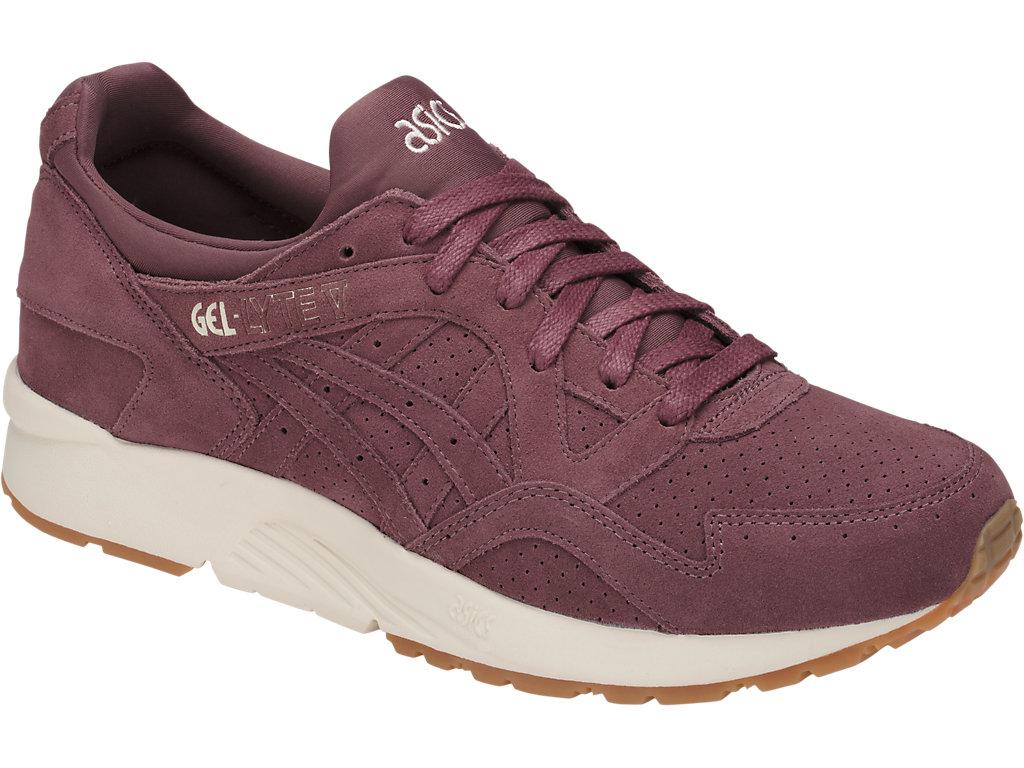 Asics Gel Lyte V sneaker grijs en roze