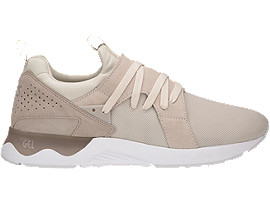 Right side view of GEL-LYTE V SANZE, Birch/Feather Grey