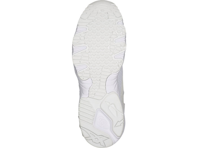 Bottom view of GEL-MAI KNIT, WHITE/WHITE