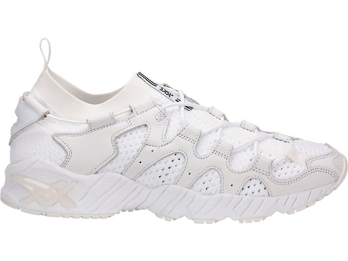 Right side view of GEL-MAI KNIT, WHITE/WHITE