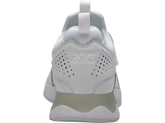 Back view of GEL-LYTE V SANZE, WHITE/WHITE