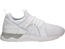 Right side view of GEL-LYTE V SANZE, WHITE/WHITE
