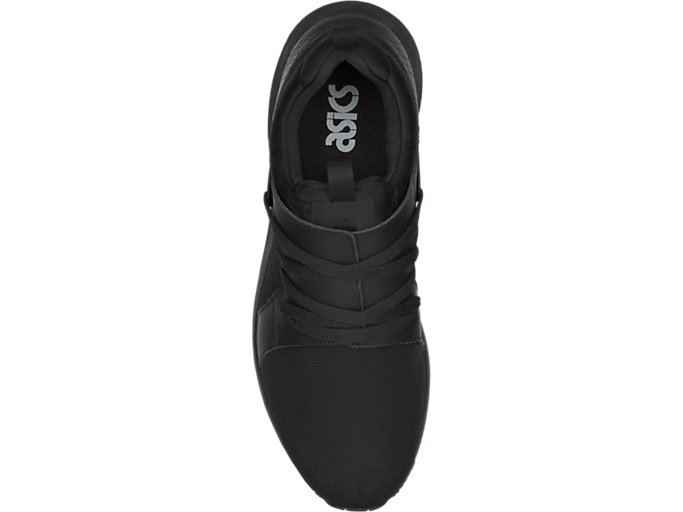 Top view of GEL-LYTE V SANZE, BLACK/BLACK