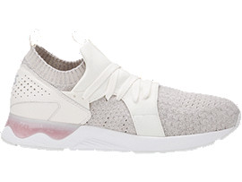 Right side view of GEL-LYTE V SANZE KNIT, WHITE/WHITE