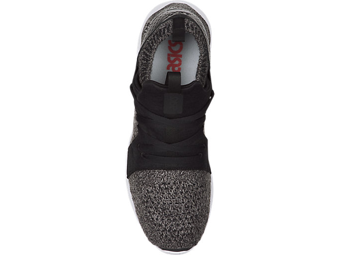 Top view of GEL-LYTE V SANZE KNIT, Mid Grey/Mid Grey