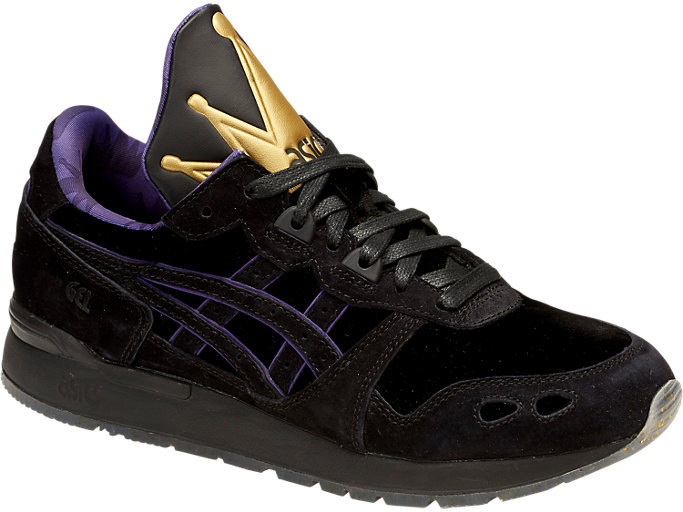 Front Right view of DISNEY GEL-LYTE, BLACK/BLACK