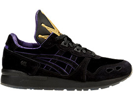 Right side view of DISNEY GEL-LYTE, BLACK/BLACK