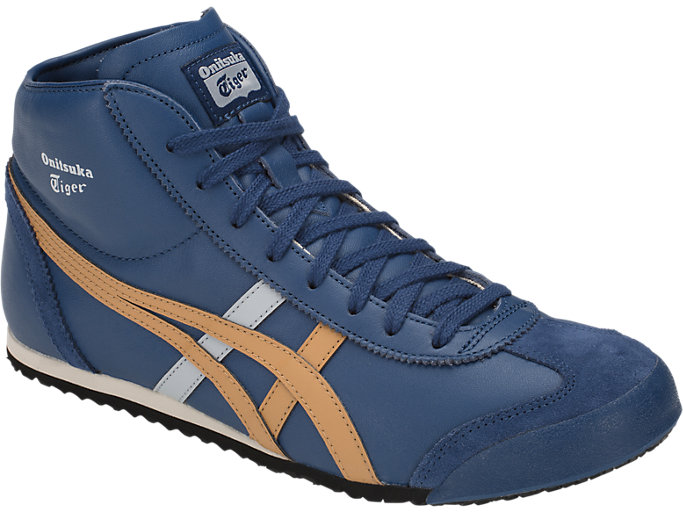 onitsuka tiger mexico mid runner blue 40