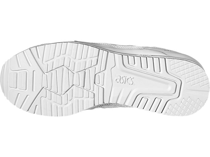 Bottom view of GEL-LYTE III, WHITE/WHITE