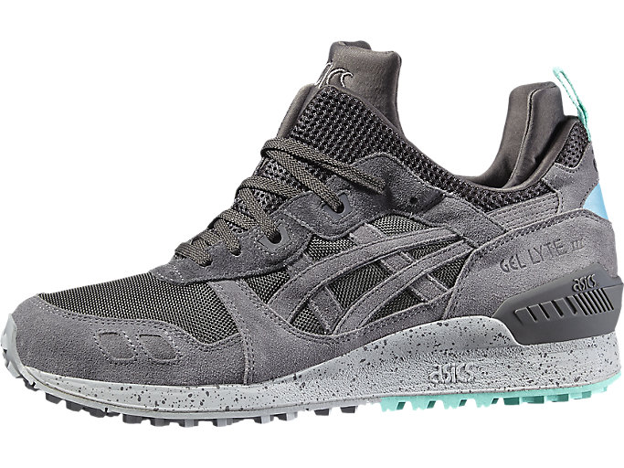 Right side view of GEL-LYTE MT, GREY/GREY