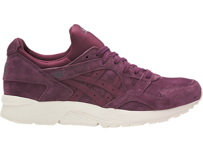 Right side view of GEL-LYTE V, EGGPLANT/EGGPLANT