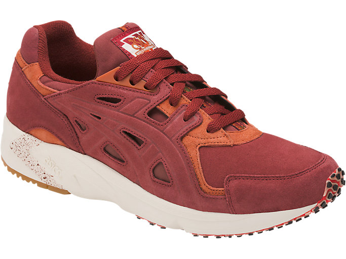 Front Right view of GEL-DS TRAINER OG, RUSSET BROWN/RUSSET BROWN