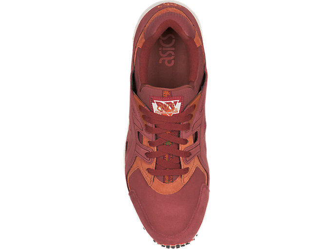 Top view of GEL-DS TRAINER OG, RUSSET BROWN/RUSSET BROWN
