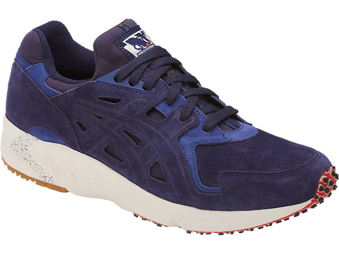 Front Right view of GEL-DS TRAINER OG, PEACOAT/PEACOAT