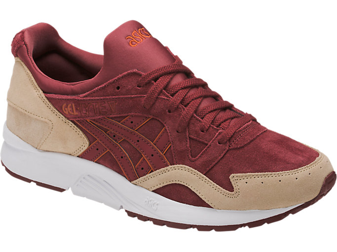 Front Right view of GEL-LYTE V, RUSSET BROWN/RUSSET BROWN