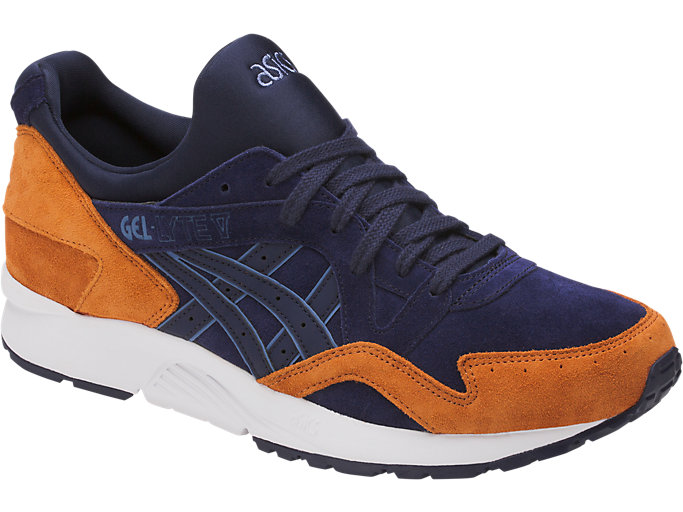 Front Right view of GEL-LYTE V, PEACOAT/PEACOAT