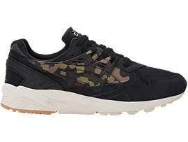 Right side view of GEL-KAYANO TRAINER, Black/Martini Olive
