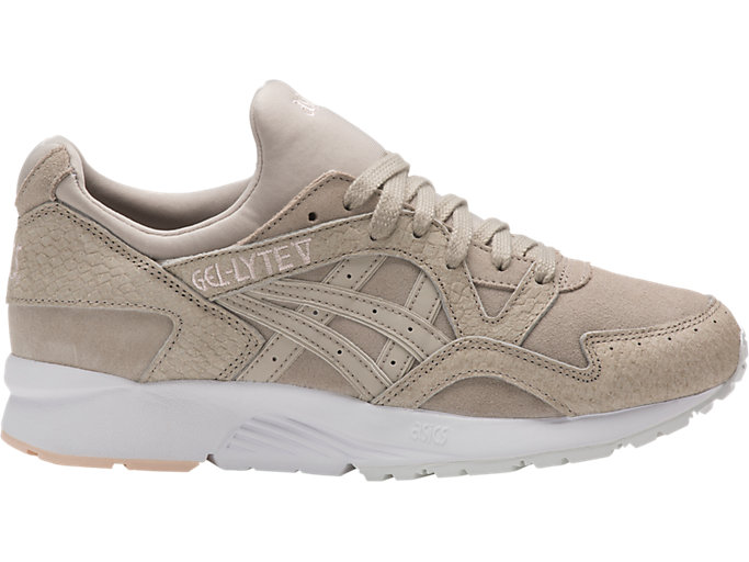 Right side view of GEL-LYTE V, FEATHER GREY/FEATHER GREY