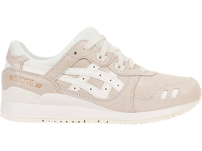 Right side view of GEL-LYTE III, CREAM/CREAM
