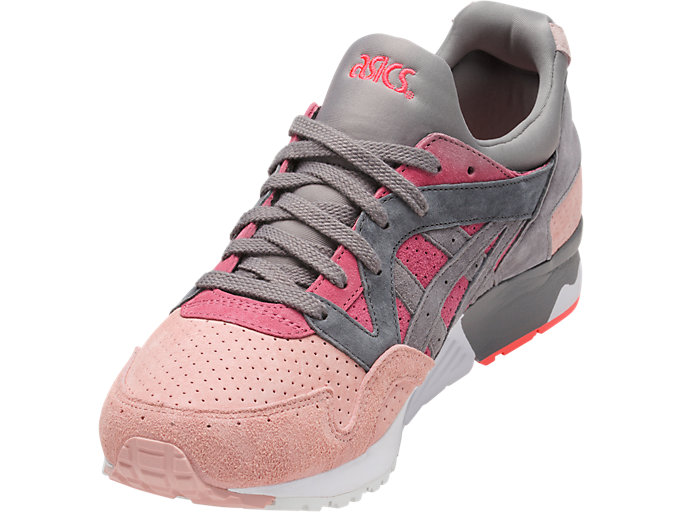 Front Left view of GEL-LYTE V, MAUVE WOOD/ALUMINUM
