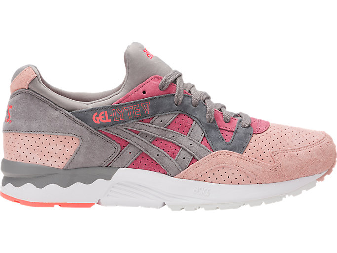 Right side view of GEL-LYTE V, MAUVE WOOD/ALUMINUM
