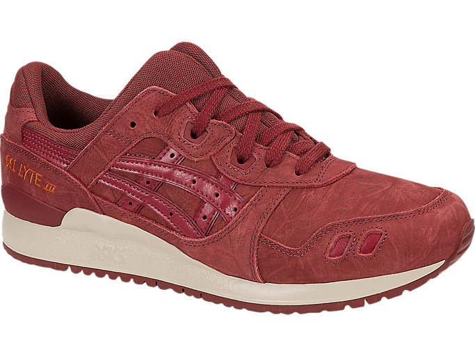 Front Right view of GEL-LYTE III, RUSSET BROWN/RUSSET BROWN