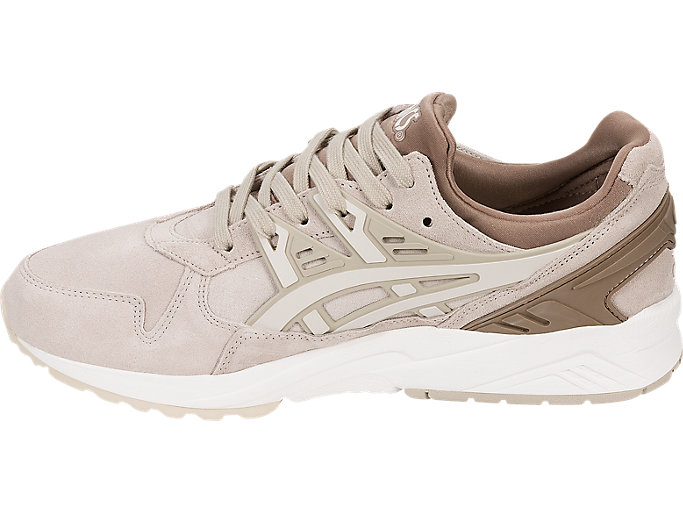 Left side view of GEL-KAYANO TRAINER, FEATHER GREY/BIRCH