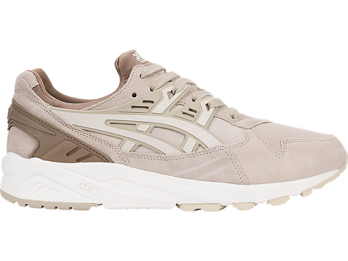 Right side view of GEL-KAYANO TRAINER, FEATHER GREY/BIRCH
