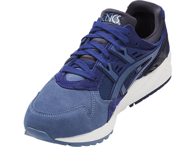 Front Left view of GEL-KAYANO TRAINER, NAVY PEONY/PIGEON BLUE
