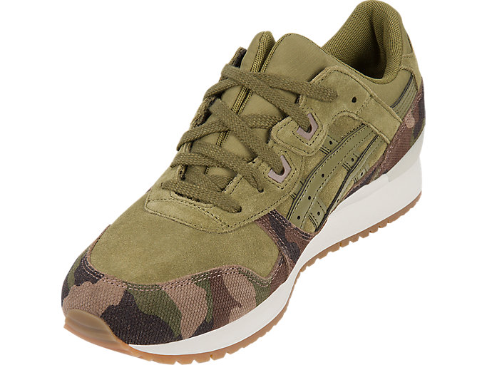 Front Left view of GEL-LYTE III, MARTINI OLIVE/MARTINI OLIVE