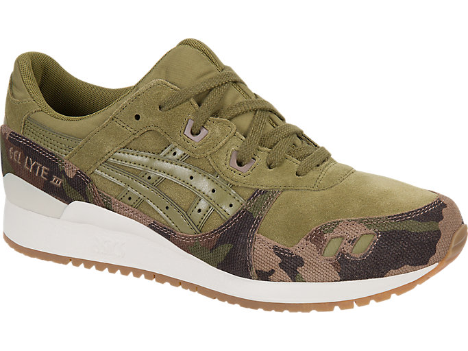 Front Right view of GEL-LYTE III, MARTINI OLIVE/MARTINI OLIVE