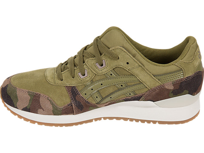 Left side view of GEL-LYTE III, MARTINI OLIVE/MARTINI OLIVE