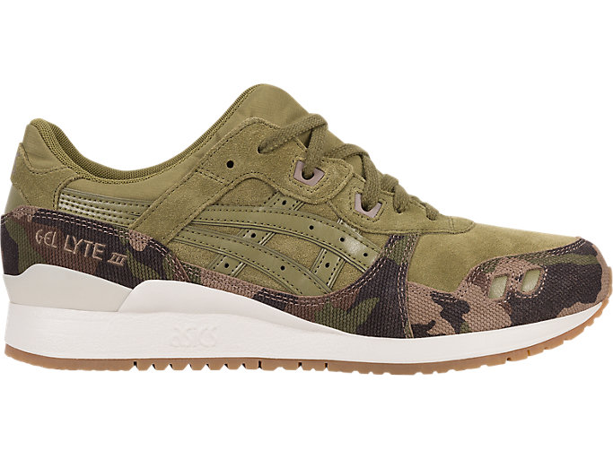 Right side view of GEL-LYTE III, MARTINI OLIVE/MARTINI OLIVE