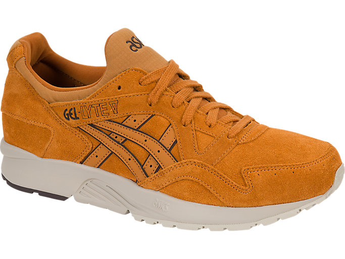 Front Right view of GEL-LYTE V, HONEY GINGER/HONEY GINGER